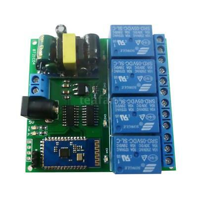 5V Bluetooth Receiver Relay Board Android Smart Wireless Control Switch Q2P4