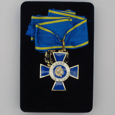 Greece Greek Medal Order of Honour commander class with case