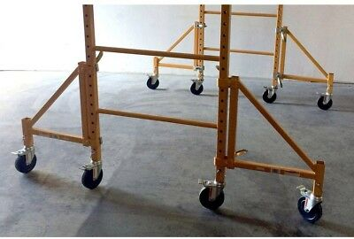 Steel Scaffolding 18 In. Outriggers Pro Series Heavy Duty Stable Support 4 pack
