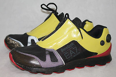 Reebok Lace Ea7 Green Mens Red Up Emporio Zipamp; Black Armani 9 Front uOXiPkZ