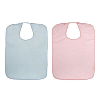 Adult Disability Clothing Protective Dining Mealtime Bib Apron Waterproof
