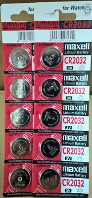 CR2032 Button Coin Cell Lithium Battery 3V