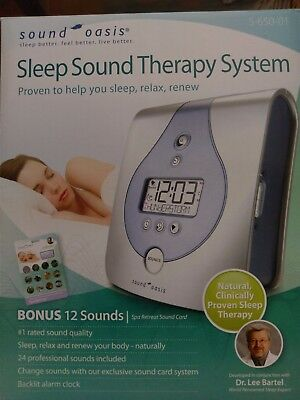 Sound Oasis Sleep Sound Therapy System with Bonus Sound Card