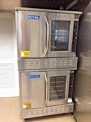 Royal Range RCOS-2 - Great condition!!!  4 burner double deck convection oven.
