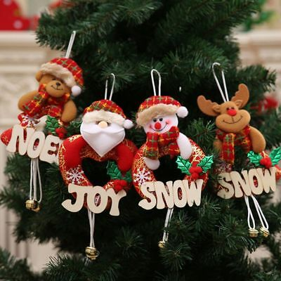 Xmas Hanging Home Party Decor Christmas Holiday Gifts Tree Ornaments Decoration