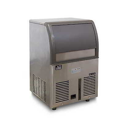 AG Equipment Heavy Duty Commercial Ice Maker Machine 55KG 24Hrs 20KG Ice Storage