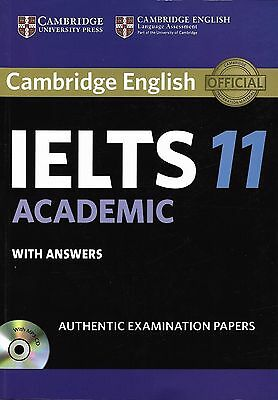 Cambridge English IELTS 11 ACADEMIC with Answers & Audio CD