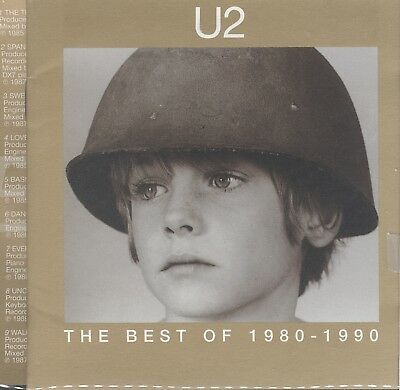 U2 - The Best of 1980-1990 / The B-Sides 2cd 29 tracks