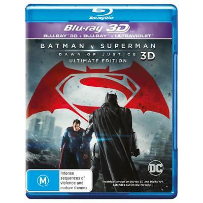 DC Batman V Superman Dawn of Justice Blu-ray 3D + 2D + Digital BRAND NEW SEALED