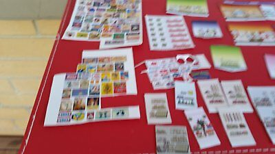 a mixed lot of signs for a model train layout in ho scale free postage