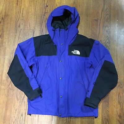 Vintage THE NORTH FACE Mountain Guide Jacket 90s OG Large EX condition Blue