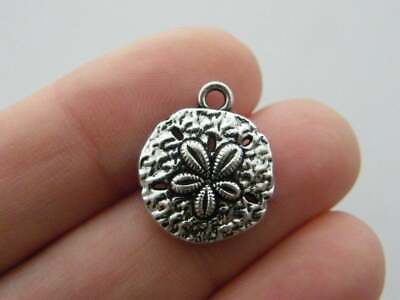BULK 50 Number 2 charms antique silver tone