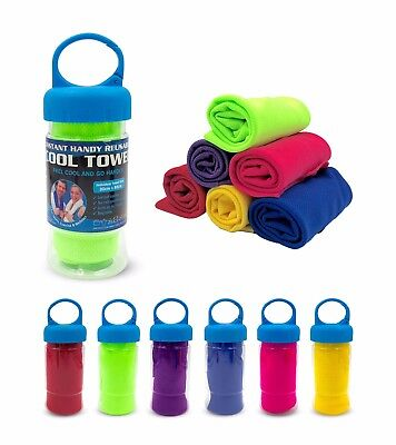 Instant Handy Reusable Cool Towel For Sports, Exercise & Wellness  (UPF 50+)