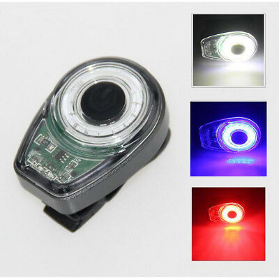 100 Lumen Waterproof LED Cycle Rear Lamp 6 Mode USB Rechargeable Bike Tail Light