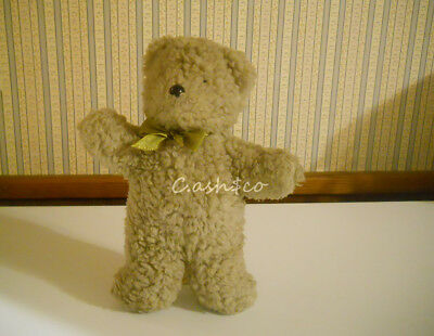 """Rare North  American Bear Co 1988 Oatmeal Bear #1121 with squeaker 10.5"""" tall"""