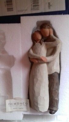 """Willow Tree - """"Together"""" 26032 - Couple Embrace Figurine"""