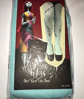 Disney the Nightmare Before Christmas Sally Tights Halloween Accessory One Size