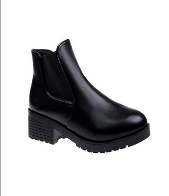 Women's Boots Martin Boots And Leather Shoes