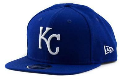 Kansas City Royals New Era MLB Team 9Fifty Hat Snapback Baseball Cap In Royal