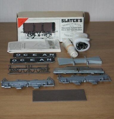 O Gauge - Slaters Unmade Kitprivate Owners 'ocean'  R 6 Plank Open Wagon-