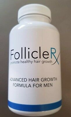 Follicle RX 60 Capsules Advanced Hair Growth Formula Plus Free Gift 🎁