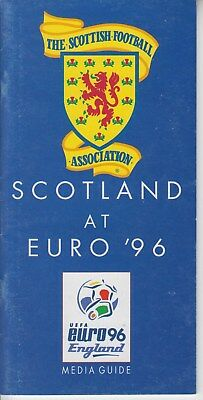 Media Guide Scotland at  EURO 96 England 1996