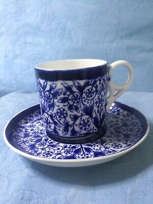 Old Crown Derby Lily demitasse cup and saucer