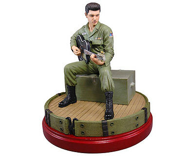 Elvis Presley In The Army Limited Edition Sculpture (by Knucklebonz) NEW