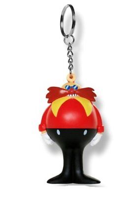 Sonic the Hedgehog Anti-Stress Squeeze Collectible Key Ring - Dr Eggman