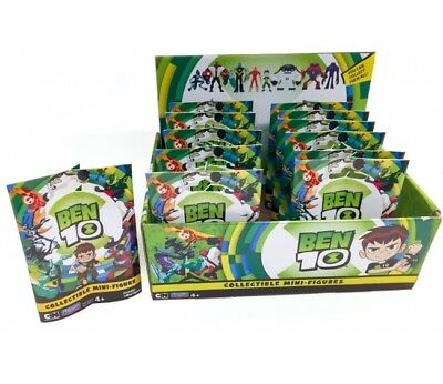 Cn Ben 10 Mini Figures Collectible Blind Bag 8 To Collect