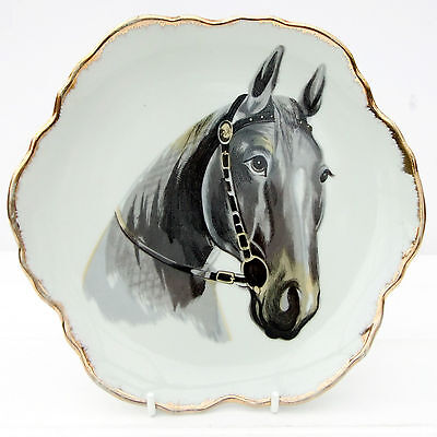 Vintage Decorative Wall Plate Horse