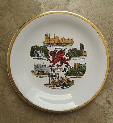 Wales Castles Collector Plate