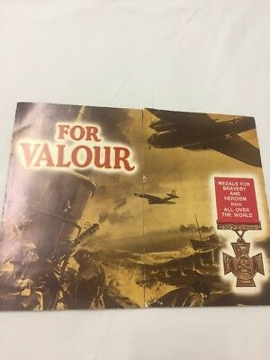 Warlord Comic Free Gift - For Valour Medals For Bravery & Heroism