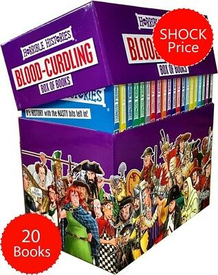Horrible Histories 20 Books Set Collection Children Pack
