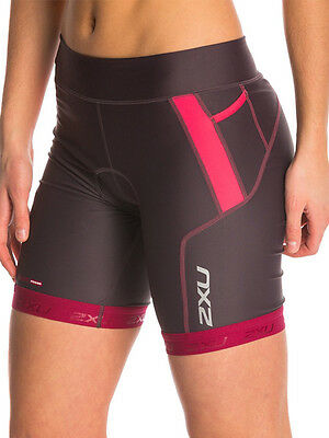 New 2Xu Tri Shorts Women Perform Xs Extra Small Triathlon Training Cycling Sport