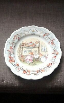 Royal Doulton Brambly Hedge 1999 Year Plate