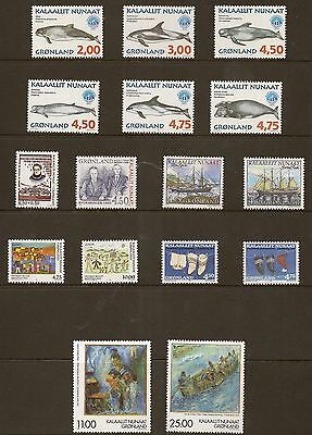 Greenland 1998 Year Set Never Hinged  Mint