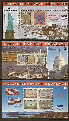 Greenland 1995 Year Set Never Hinged Mint