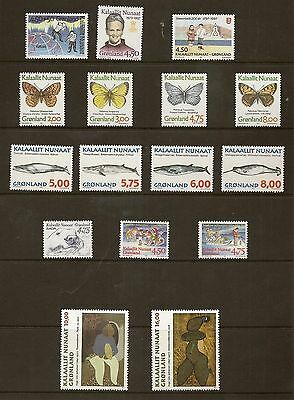 Greenland 1997 Year Set Never Hinged  Mint