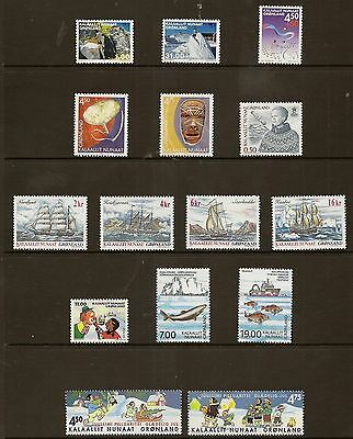 Greenland 2002 Year Set Never Hinged Mint