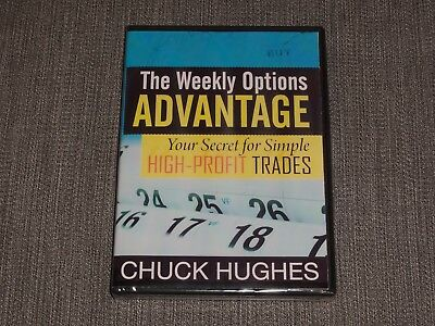 Chuck Hughes Weekly Options ADVANTAGE 2 DVD Secret For Simple High-Profit Trades