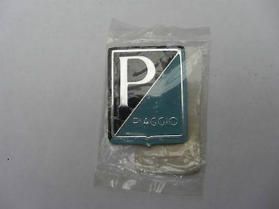 Vespa SS180 or GS160 new Piaggio leg shield badge from Italy or Sprint, GL etc.