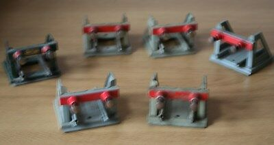 O GAUGE -  HORNBY 5 x  No 1 SPRUNG BUFFERS - USED/SERVICEABLE (3)