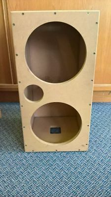 """TWIN 12"""" Wooden Subwoofer box"""