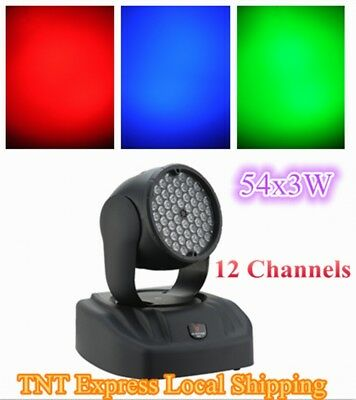 54X3W LED COLOR WASH MOVING HEAD RGB for STAGE/DJ LIGHTING