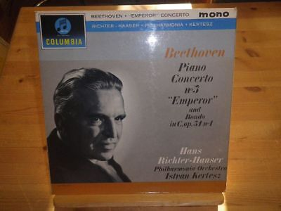 "ISTVAN KERTESZ: Beethoven -  Piano Concerto No. 5, COLUMBIA 1775, UK, 12""/LP"