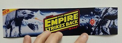 Empire Strikes Back arcade sticker. 2.5x10. (Buy any 3 stickers, GET ONE FREE!)