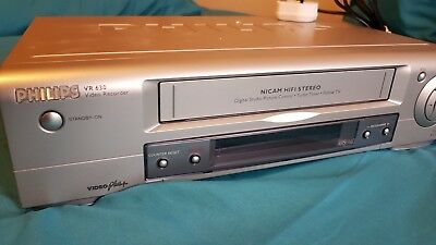 Philips VR630/07 VCR VHS Video Recorder