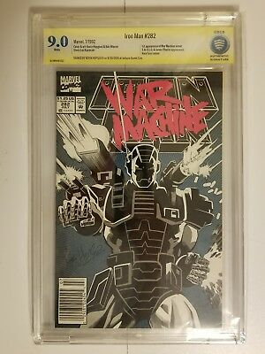 iron man 282 cbcs signed by Kevin Hopgood