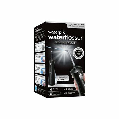Waterpik Wp462 Ultra Cordless Dental Water Flosser Black Flossing Water Jet